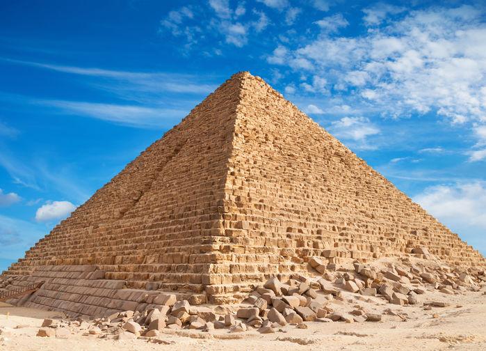 Cheopspyramiden i Kairo