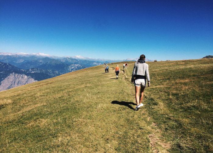 Vandring på Monte Baldo