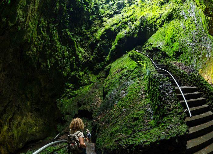 Grottan, Algar do Carvão, Terceira