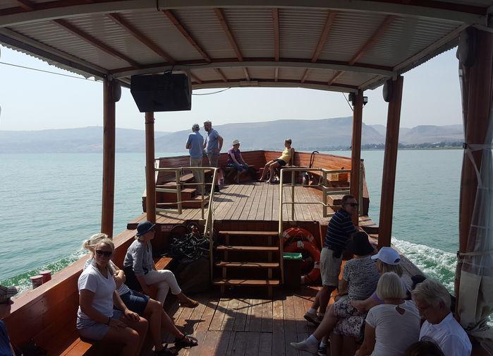 Seglats på Genesarets sjö