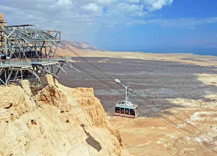 Kabinbana till Masada